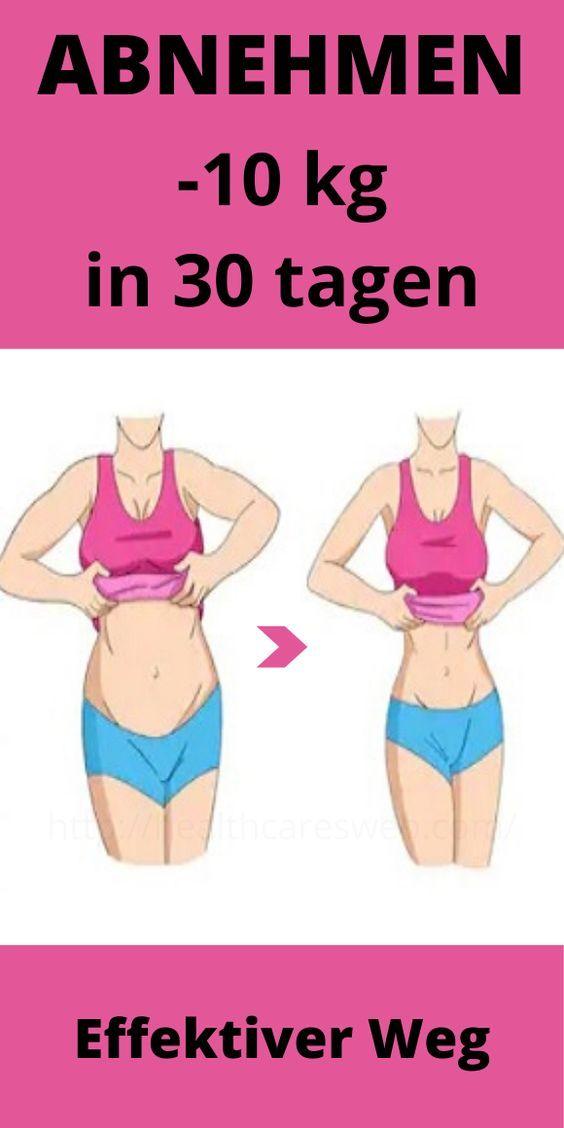 -10 kg abnehmen in 30 tagen