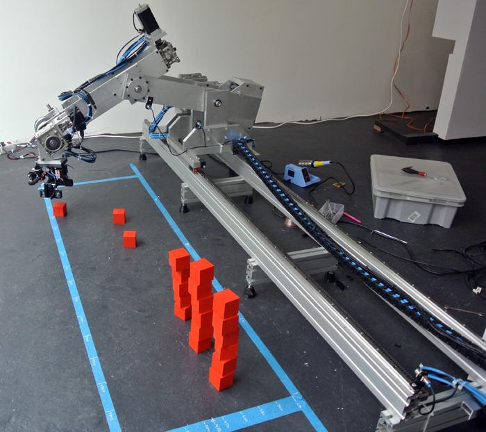 Making a axis robot arm neuro productions robotika