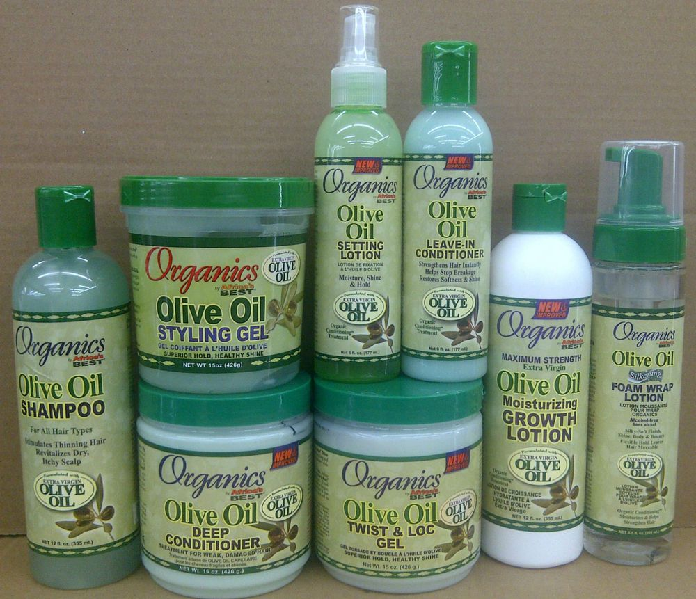 Details about Africa's Best Organics Olive Oil Hair