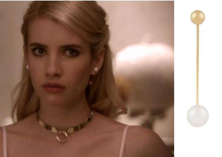 059cb0a128e Chanel Oberlin Earrings. Chanel Oberlin Earrings Scream Queens ...