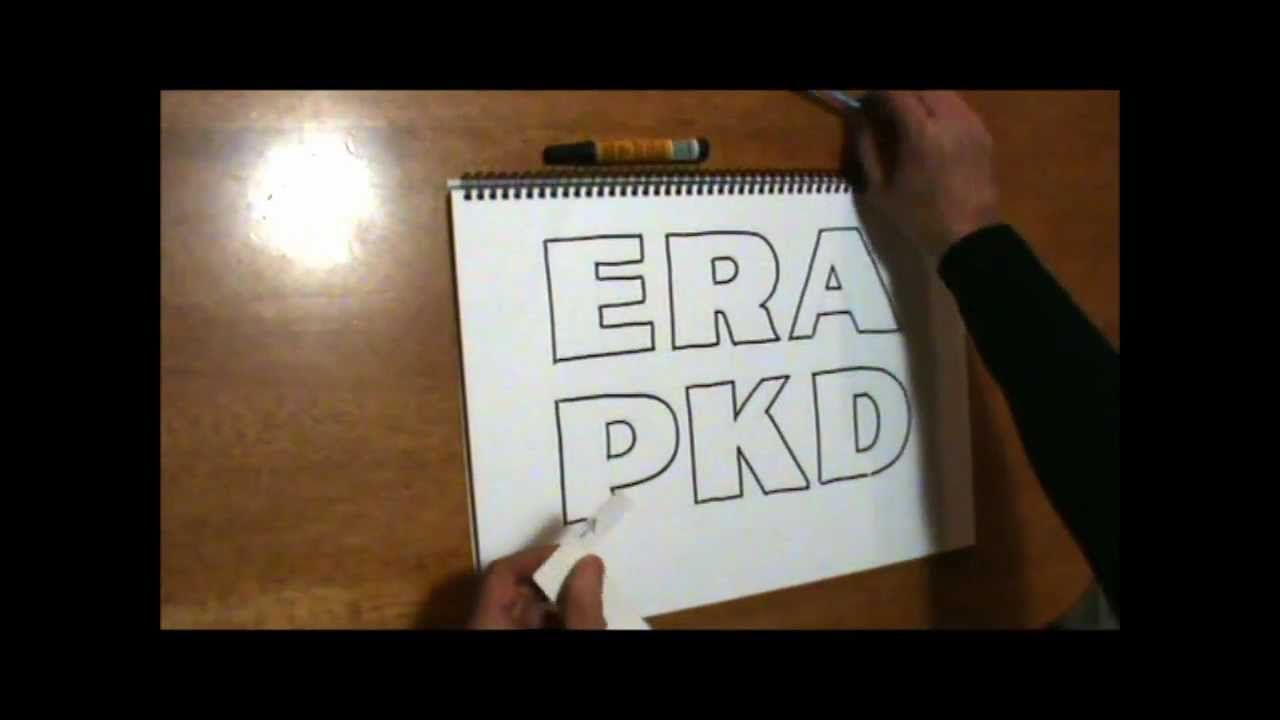 Draw perfect lettering with this easy method drawing