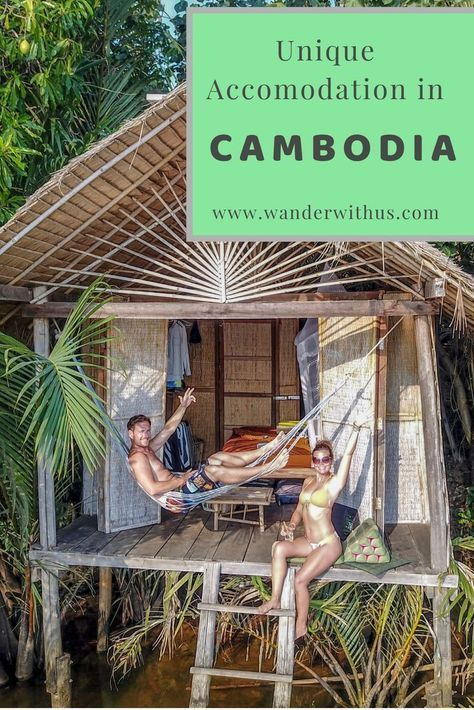 With so many options available for accommodation in Cambodia, one can spend hours researching the best places to stay. Luckily for you we have done the research for you and can recommend some incredible places from our firsthand experience!   Click the link for details on our favourite unique accommodation in Cambodia that offer more than just a bed, without breaking the bank.     #Kampot #Kep #Cambodia #Accommodation #SiemReap #OtresBeach #SouthEastAsia #TravelGuide #TravelCouple #WanderWithUs