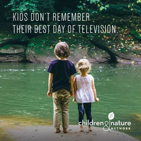 Kids don't remember their best day of television...