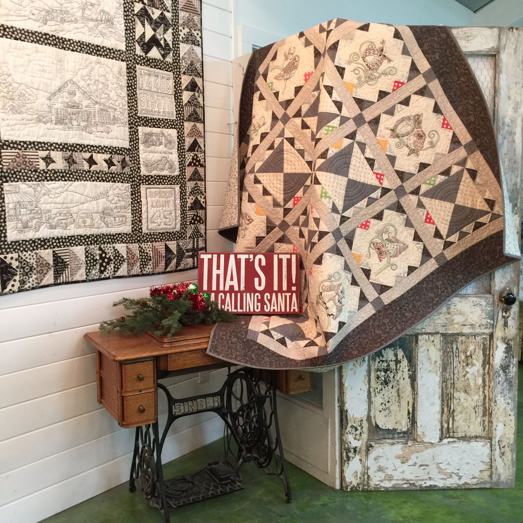 Hand Quilt Pattern: Spring's in the Air by Turnberry Lane Patterns