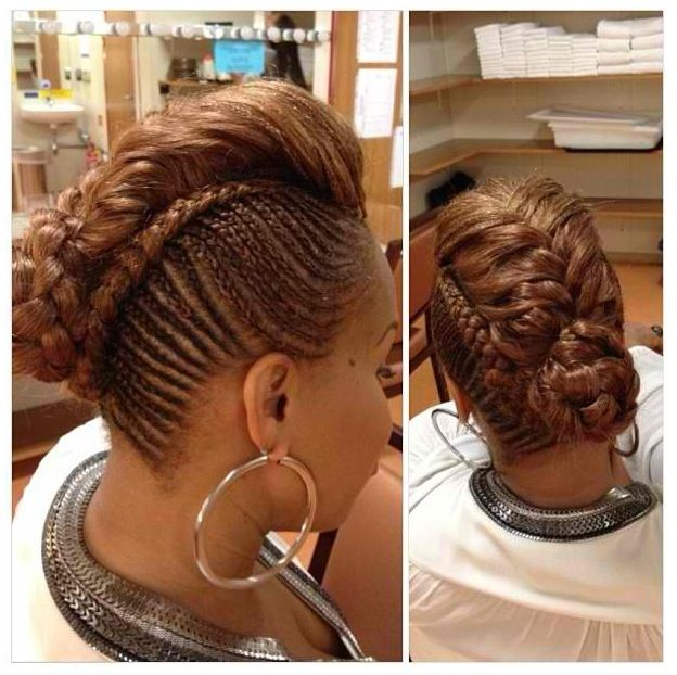 Tina Mary Mary Updo Braided Updo Styles Hair Crush Natural Hair Styles