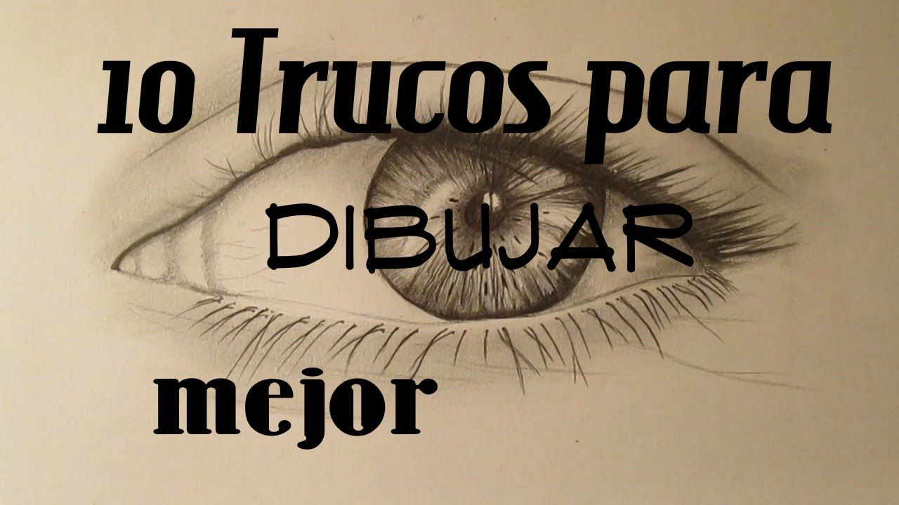 10 Trucos Para Dibujar Mejor Pictures To Draw Art Drawing Techniques