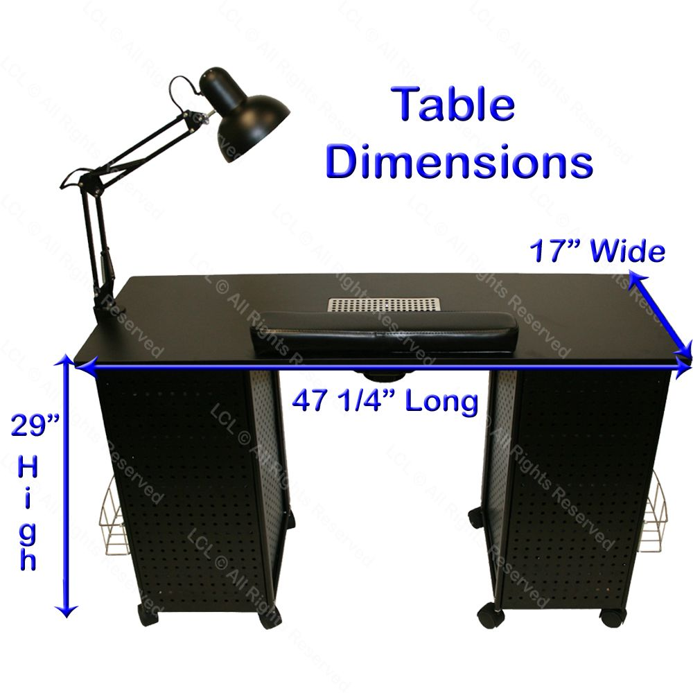 Mani Table  Manicure table, Manicure table for sale, Salon
