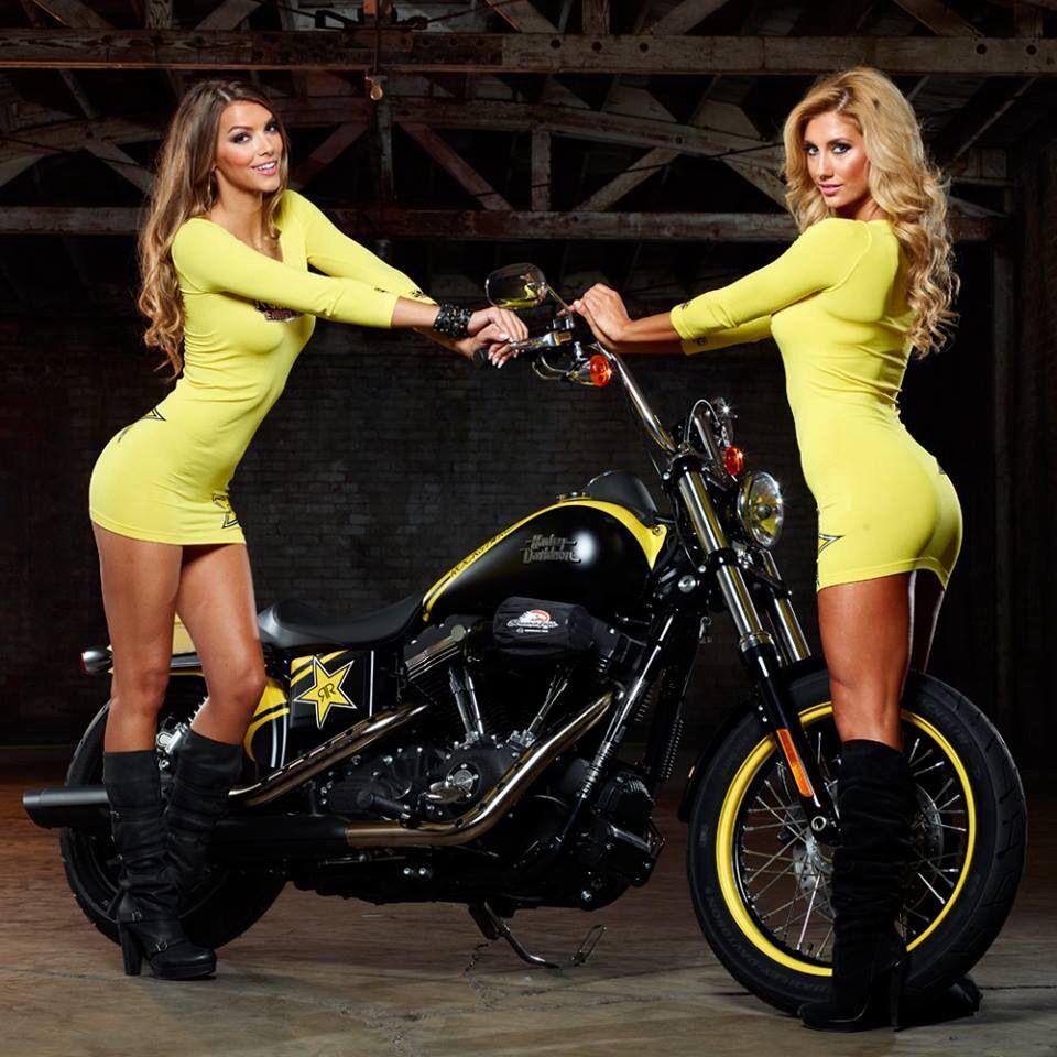 sexy rockstar energy girls