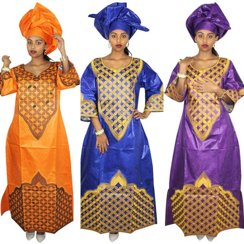 African wedding fashion design brocade bazin riche embroidery design
