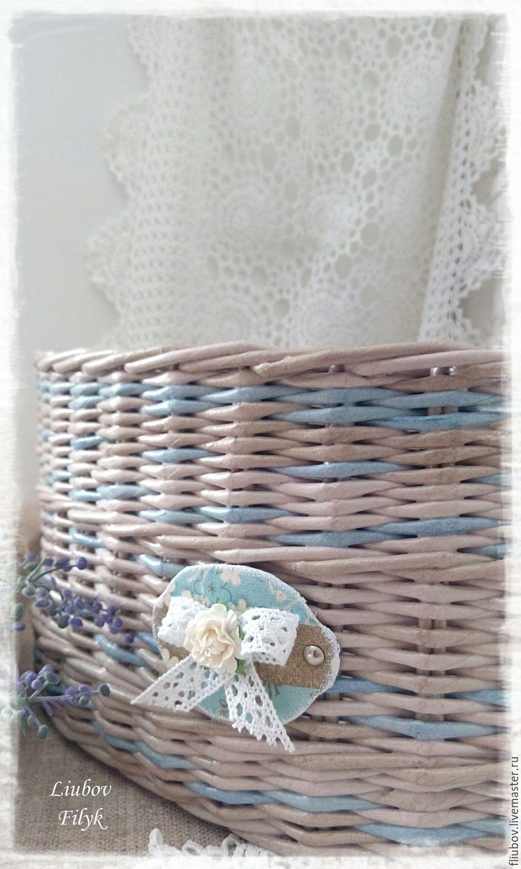 Корзина угловая плетеная