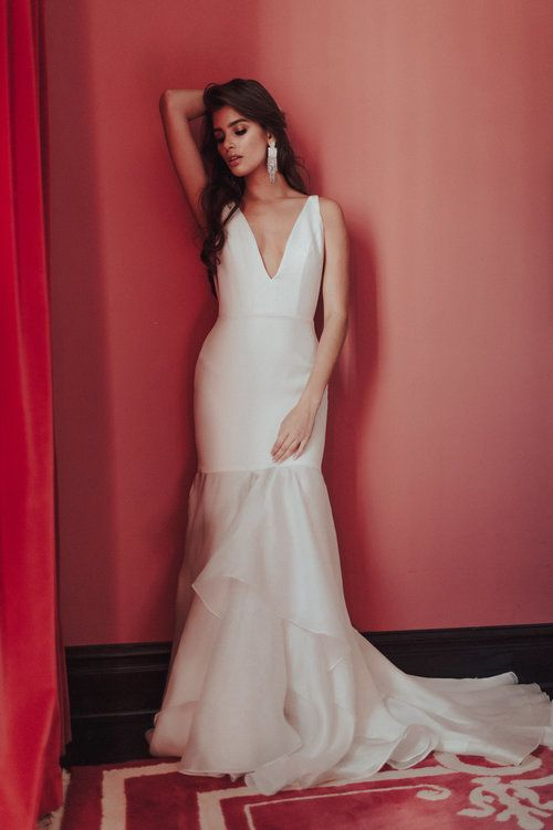 Hotel Living Sarah Seven Glamorous Bridal Gown | bride | Pinterest ...