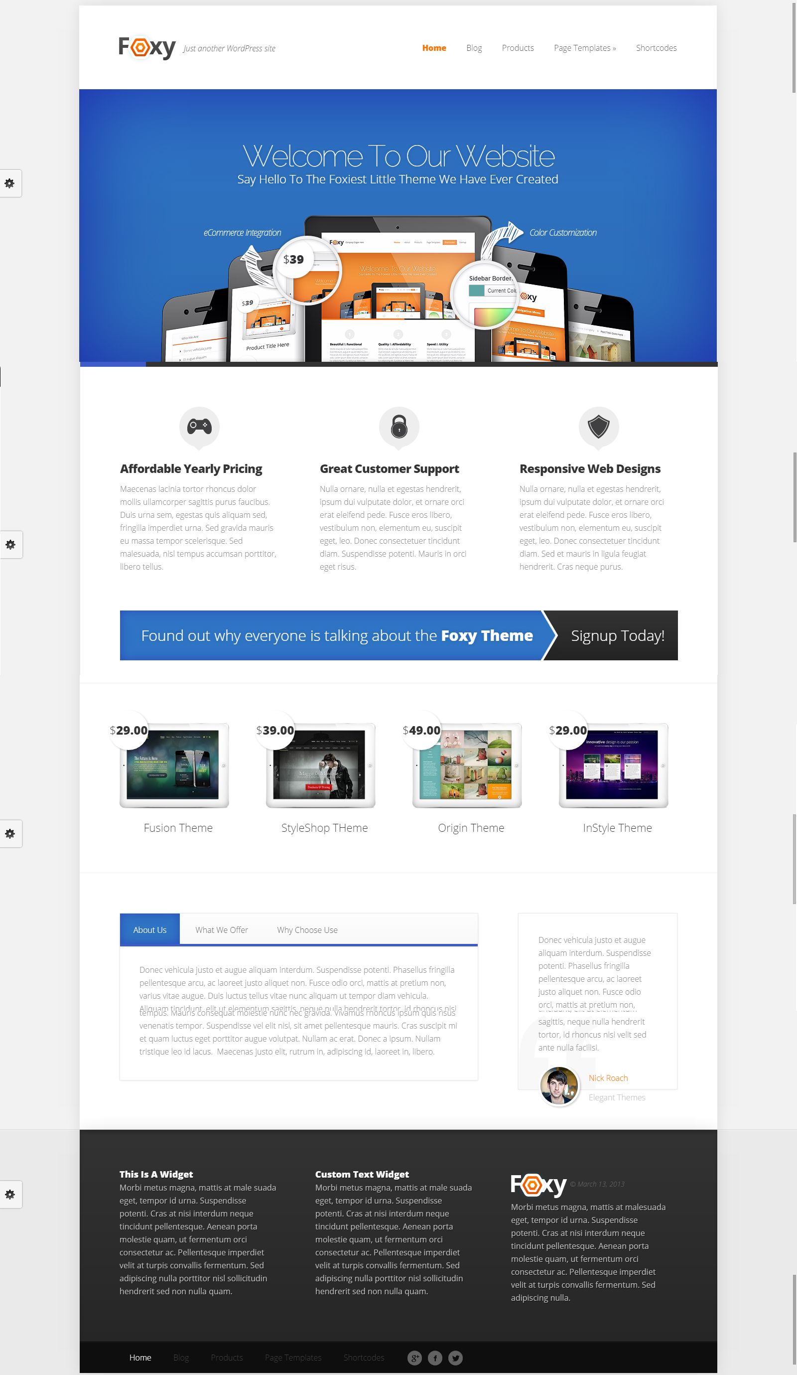 Foxy Mockup Design Website Design Mockup Design