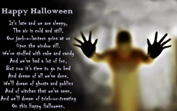 halloween poems for adults - Good Halloween Poems