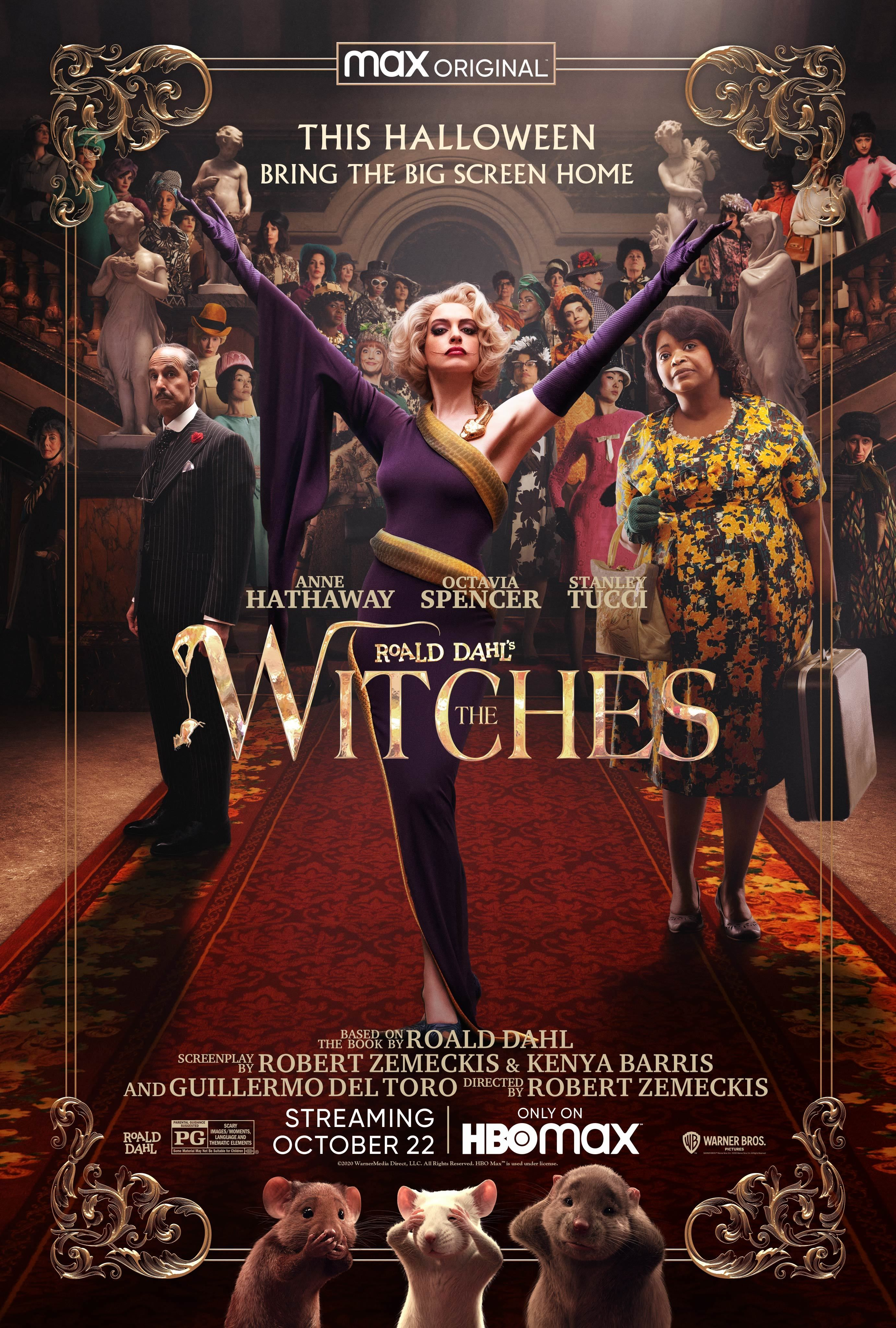 Warner Bros. will premiere Roald Dahl's The Witches exclusively on HBO Max  before opening in theaters across the worl… | The witch movie, The witch  poster, Zemeckis