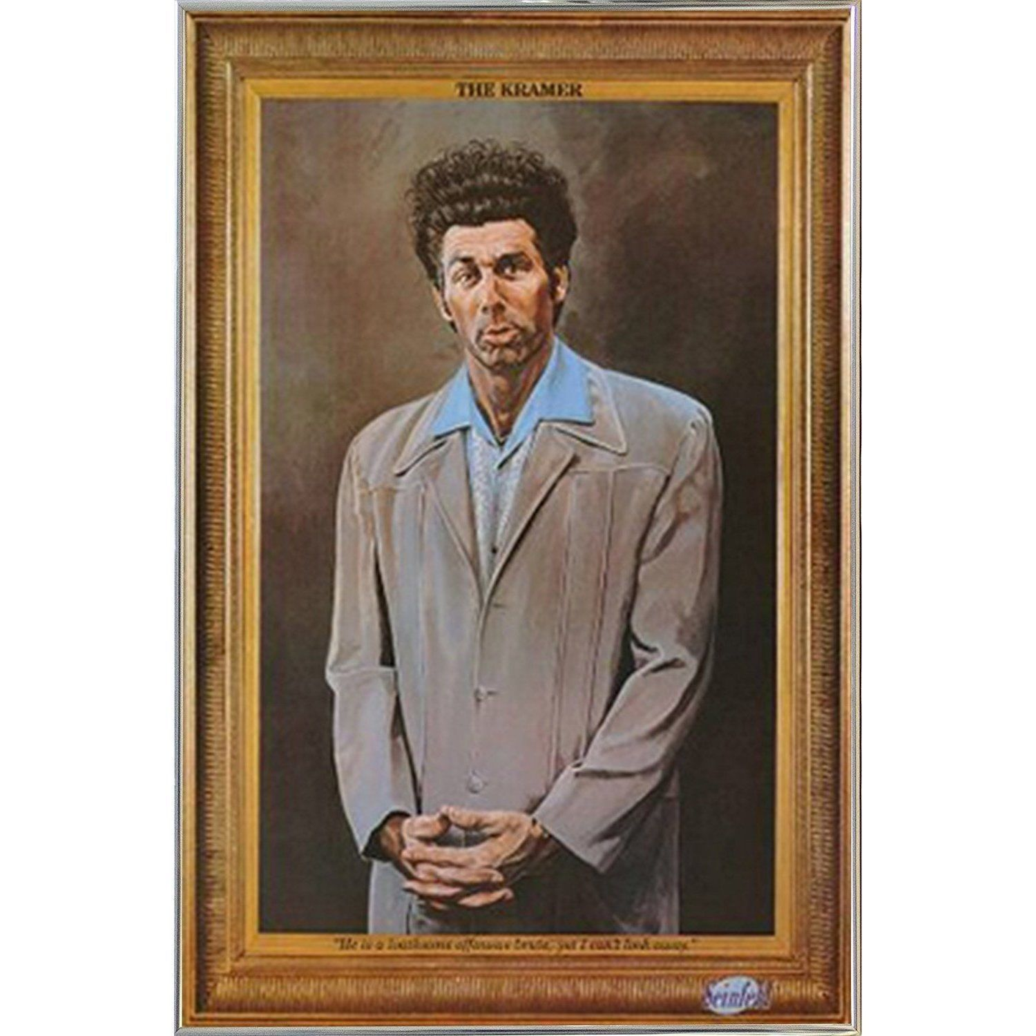 USA Seinfeld - Kramer Poster in a Metal Frame | Products | Pinterest