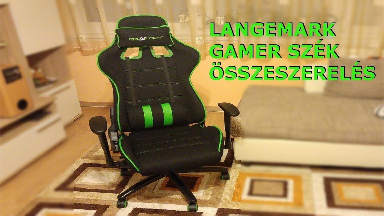 Langemark Gamer szék Apex Racer Jysk Szék