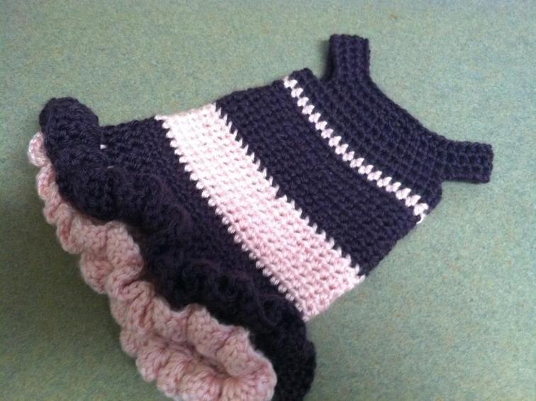 Ballerina Crochet Dog Dress | Craftsy | Mis patrones | Pinterest ...