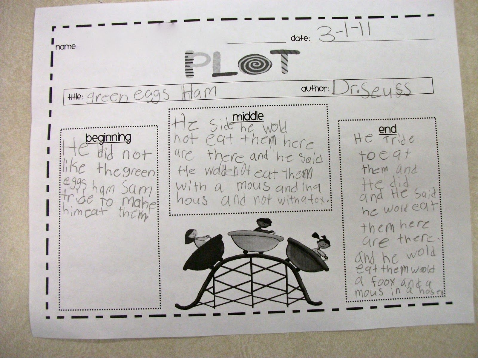 Plot Worksheet Eat Station Recording Sheet Just Need To Add Problem Amp Solution