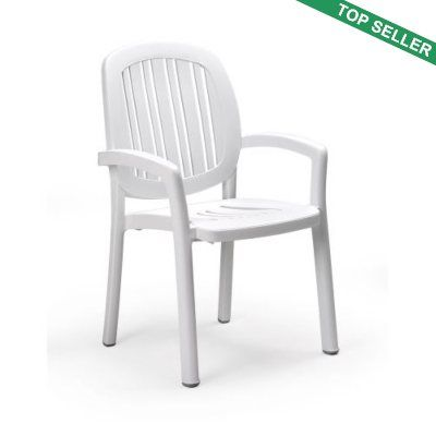 Marvelous Ponza Resin Stacking Dining Chair White Great Ideas Camellatalisay Diy Chair Ideas Camellatalisaycom