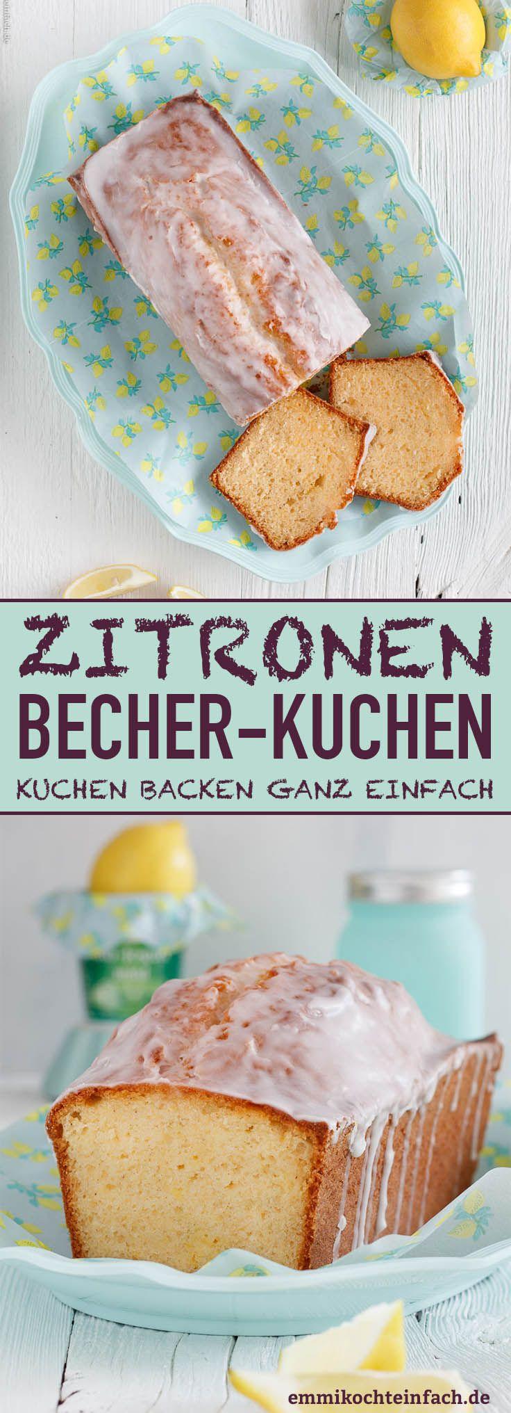 Photo of Joghurt Zitronenkuchen – ein einfacher Becherkuchen – emmikochteinfach