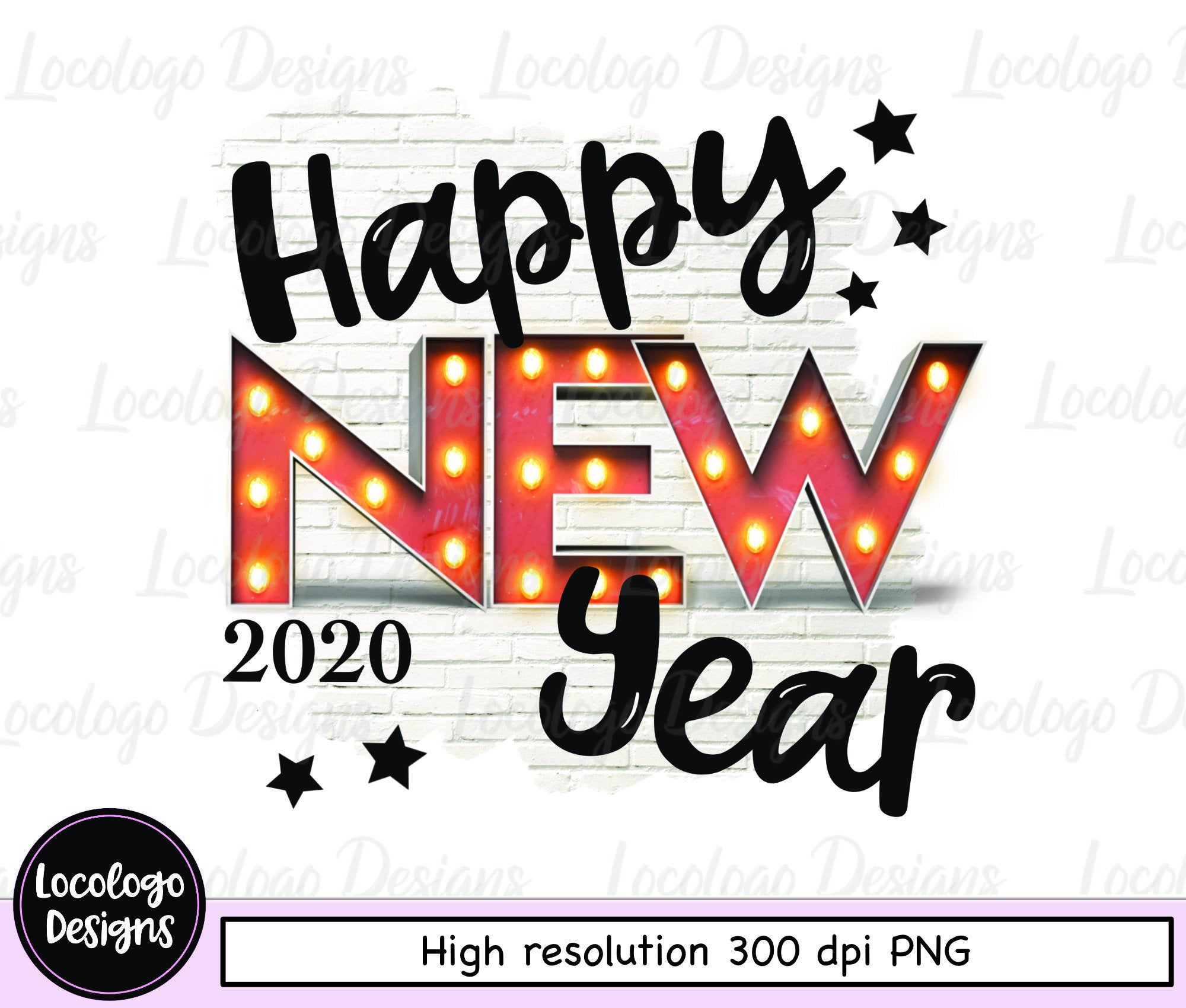 happy new year 2020 clipart 2020 png new years eve clipart new years eve sublimation design ม ร ปภาพ ด ไซน pinterest