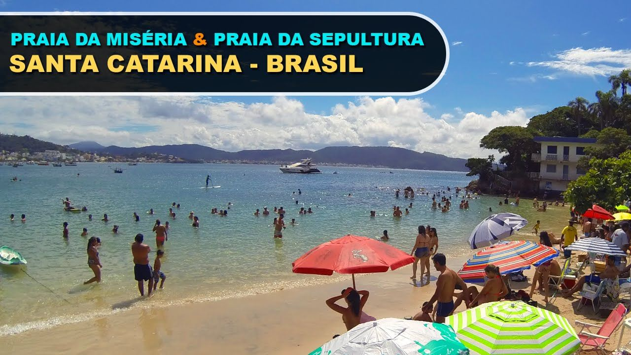 Praia da Sepultura Bombinhas Santa Catarina