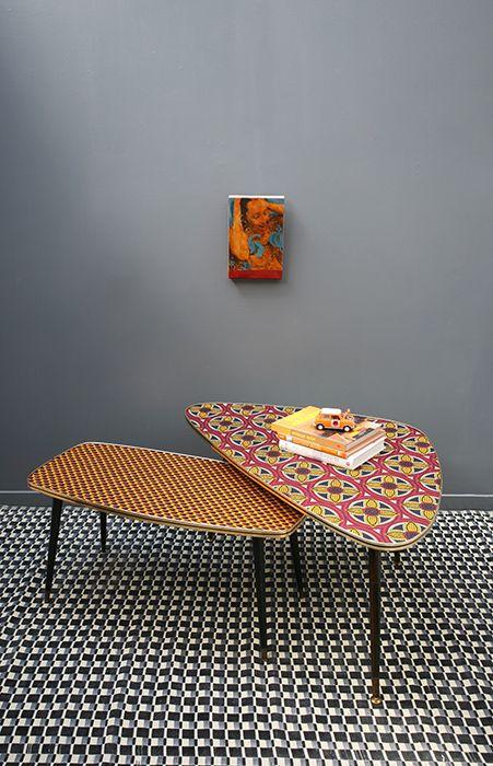 Table basses création Madamelabroc / CSAO
