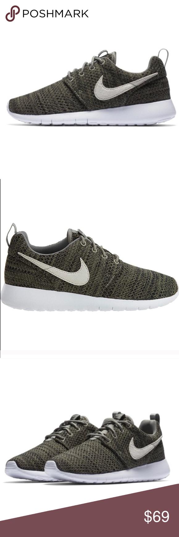 Nike Roshe One Womens Olive Green Shoes New Nwt Green Shoes Olive Green Shoes Shoes
