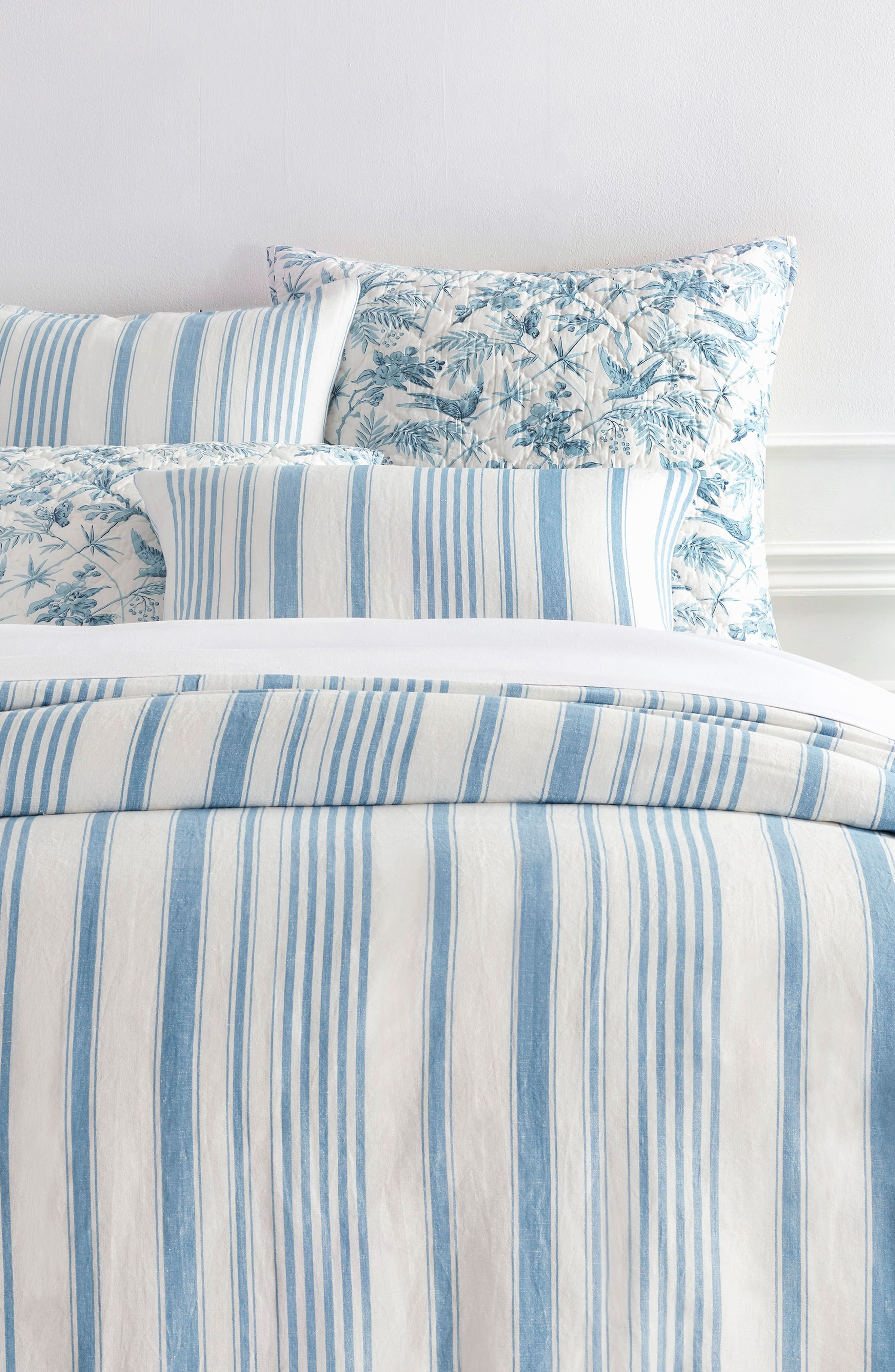 Pine Cone Hill Lush Linen Puff Single Duvet Cover Size Twin Quilt