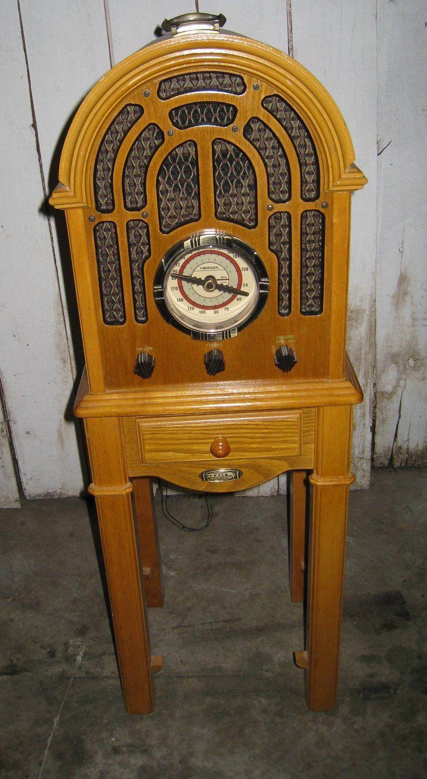 Crosley Cr-35 Collector's Edition Radio Am/fm Cassette ...