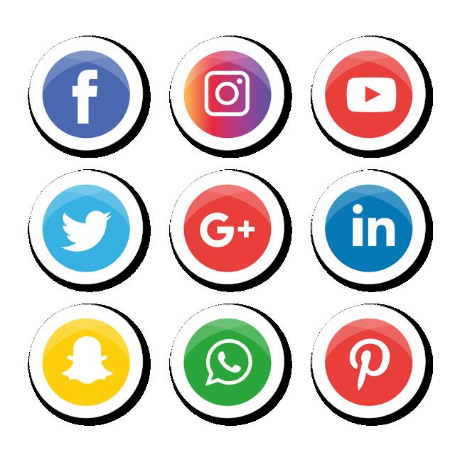 Social Media Icons Set Logo Vector Illustrator Social Icons Logo Icons Media Icons Png And Vector With Transparent Background For Free Download Instagram Aplikasi Ikon Aplikasi