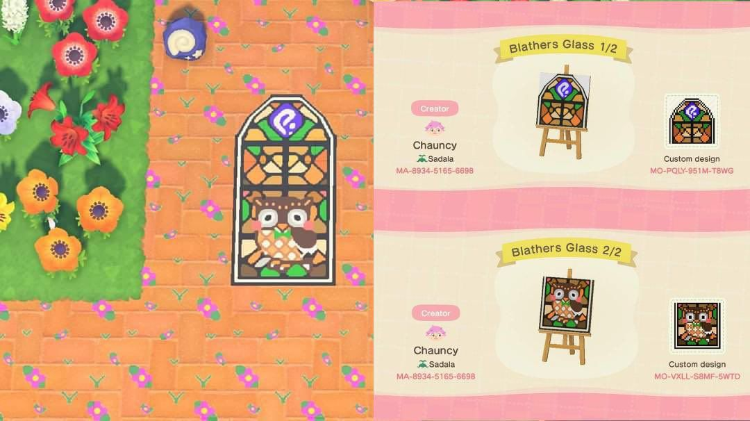 17+ Animal crossing stained glass images