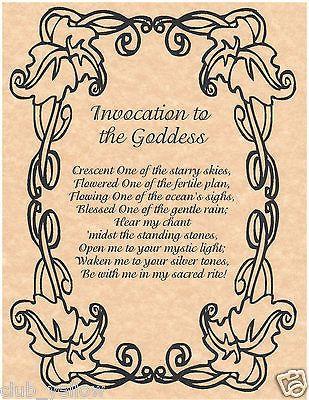 Pin on Goddess and god chants