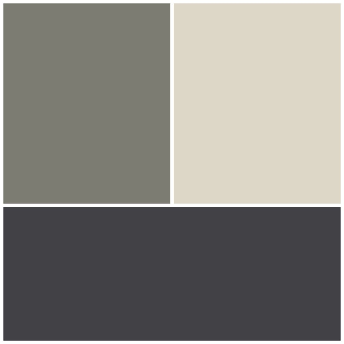 Colorbond roofing colours pictures to pin on pinterest - Exterior Colour Scheme Top Left Resene Tapa Half Strength Top Right Resene Thorndon Cream