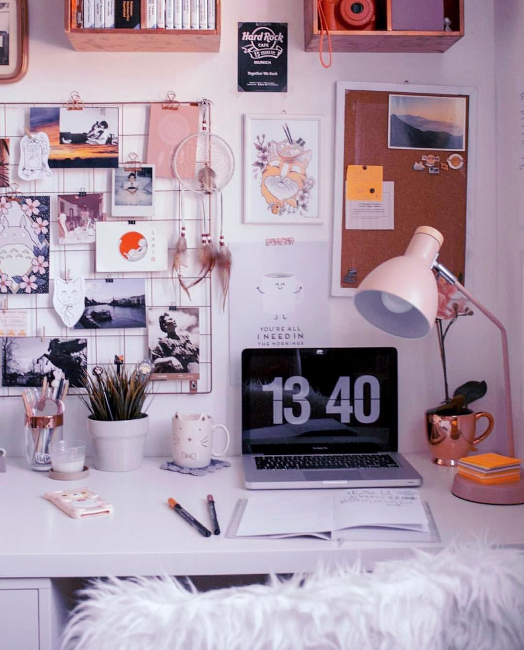 Organized Chaos Office Gallery Wall Goals Study Room Decor