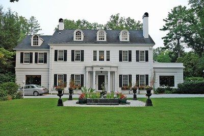 House Contributing 1922 Two and one half story Colonial Revival