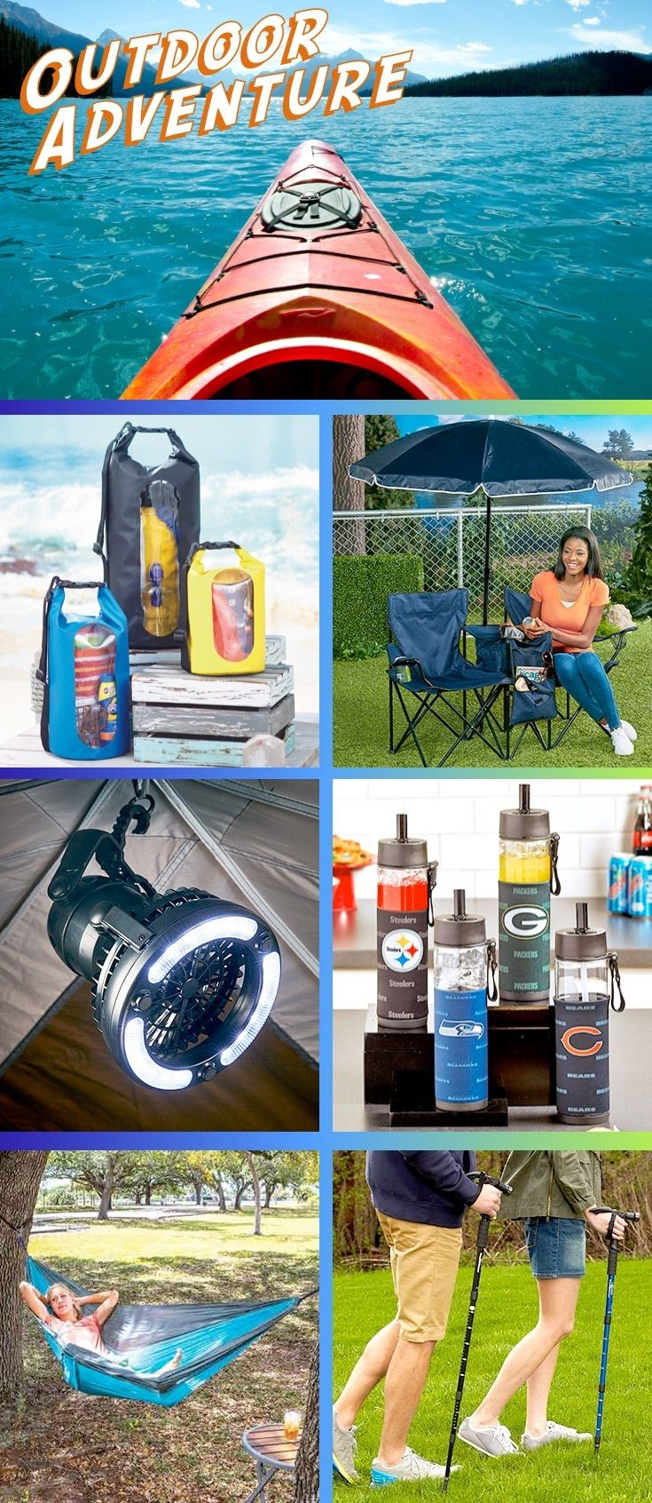 Grab The Perfect Camping Gear And Discover New Camping Hacks