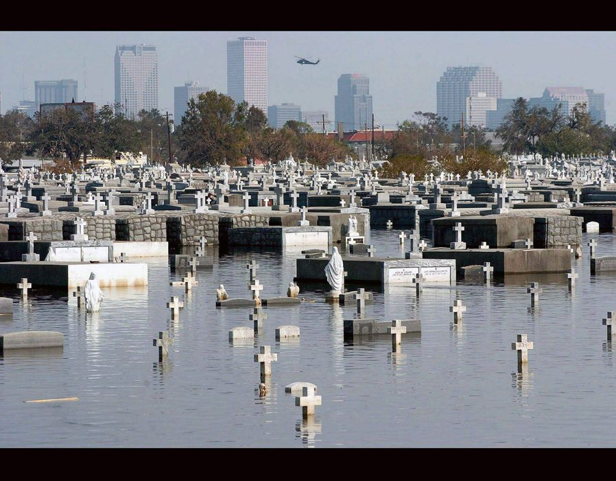 Hurricane Katrina 10 Years On Metairie Cemetery Hurricane