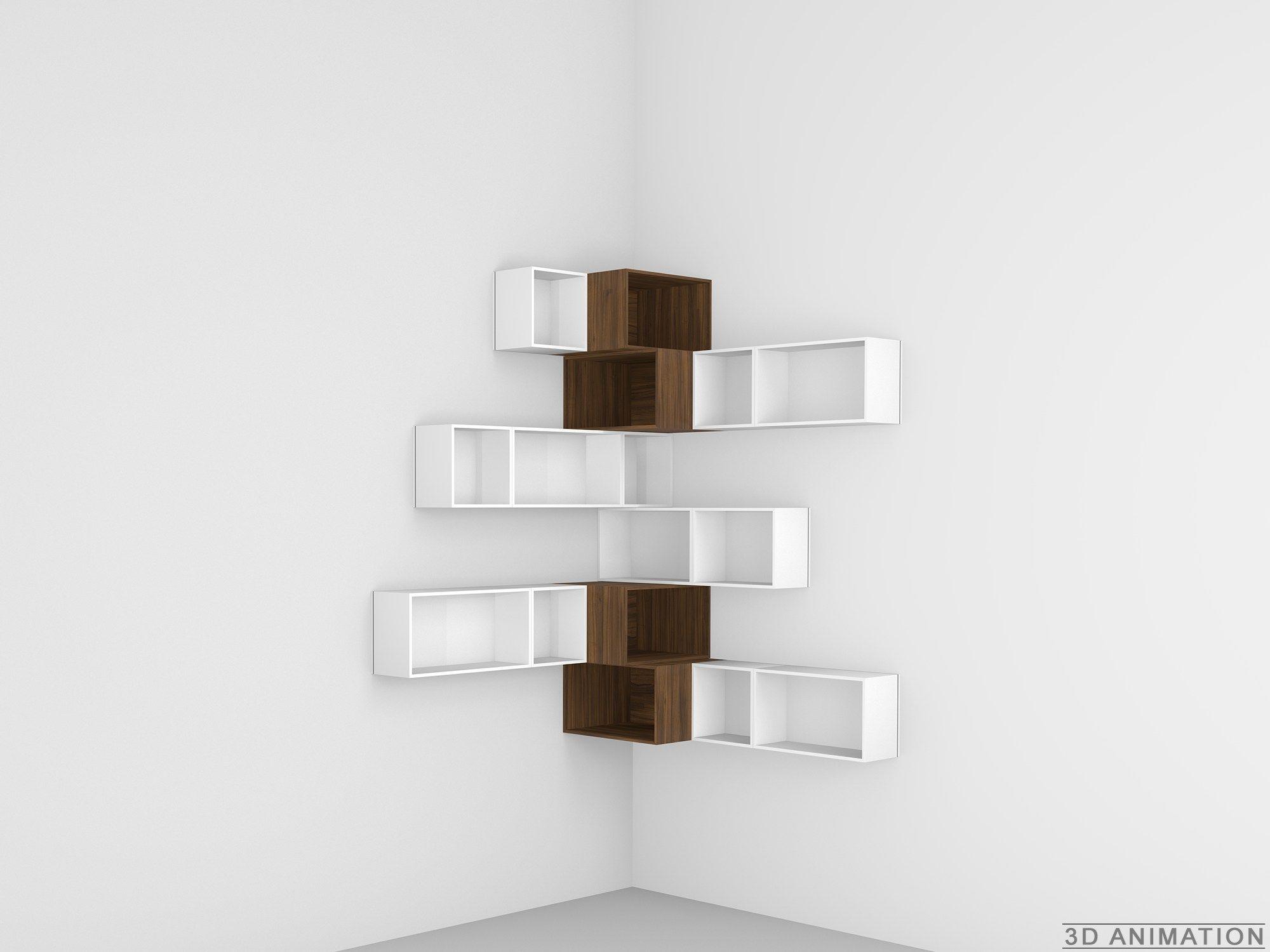 Einfache Dekoration Und Mobel Cubit Das Modulare Regal System #16: Modulares Bücherregal By Cubit By Mymito Design Cubit