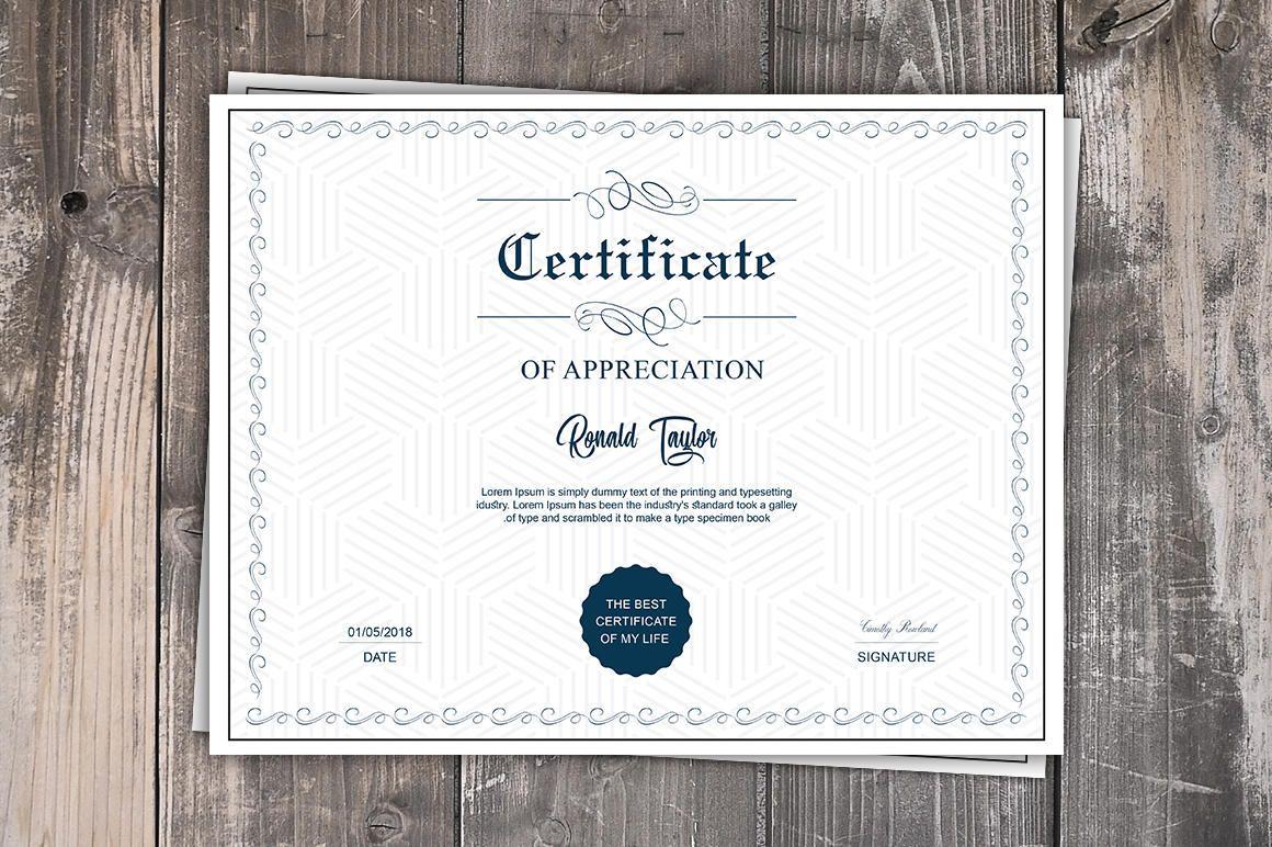 Certificate Templates Microsoft Word Multipurpose Certificate Template  Printable Certificate Template .