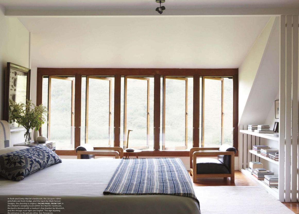 Elle decor master bedroom  Great windows and light  Sleeping Parents  Pinterest