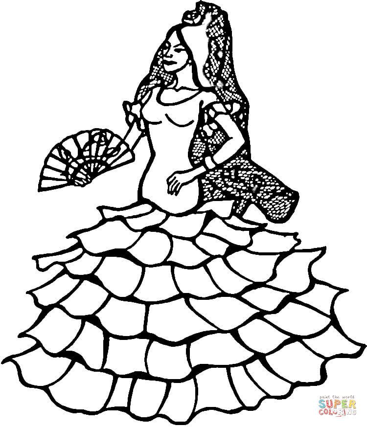 Spanish Coloring Sheets Spain Coloring Pages Free Coloring Pages
