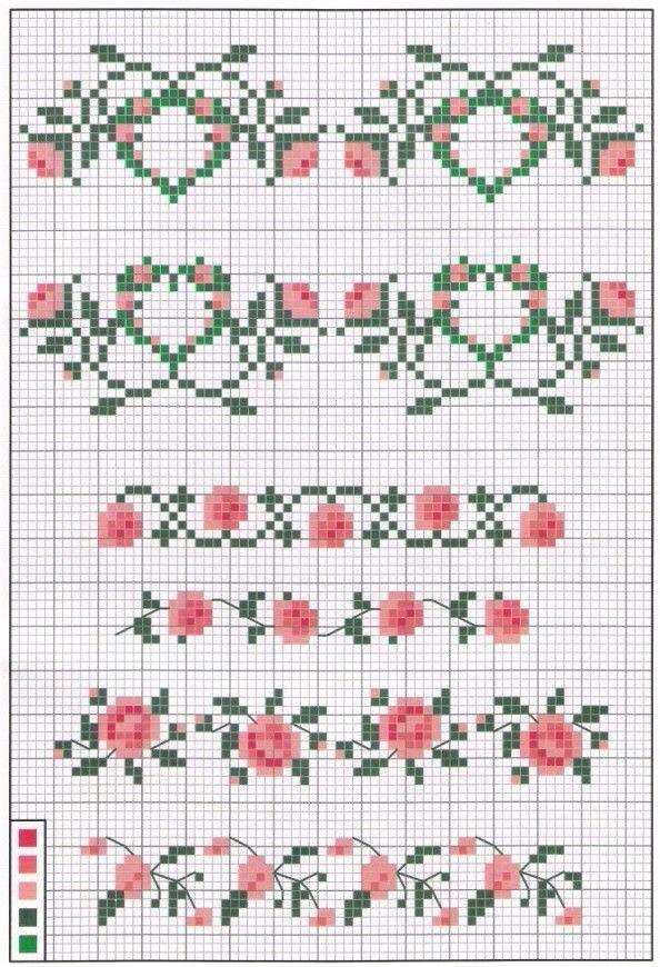 Etamin | Punto de cruz, crochet y otros tesoros... | Pinterest ...