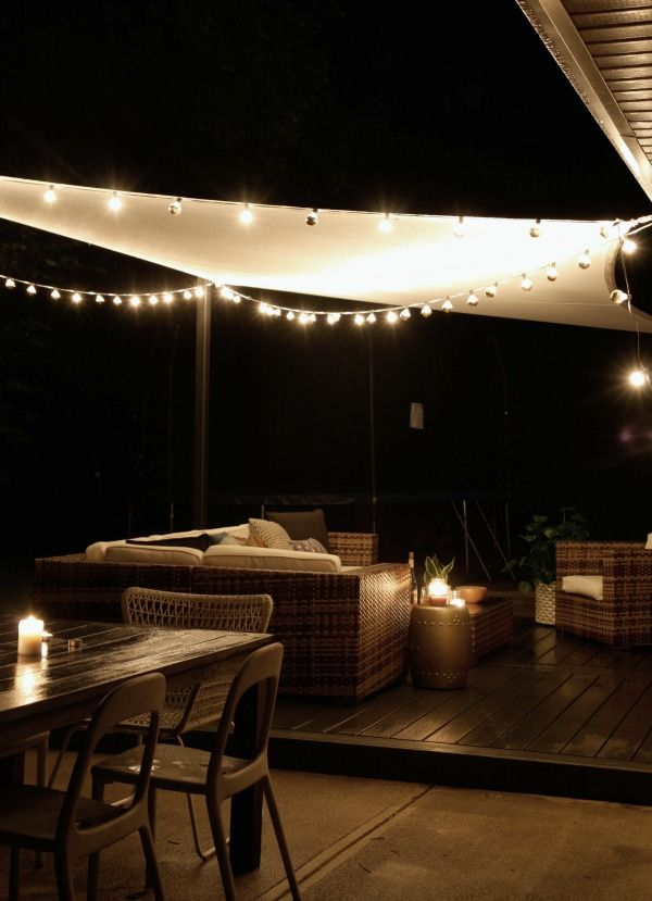 Lights Shade Furniture Patio Shade Backyard Shade