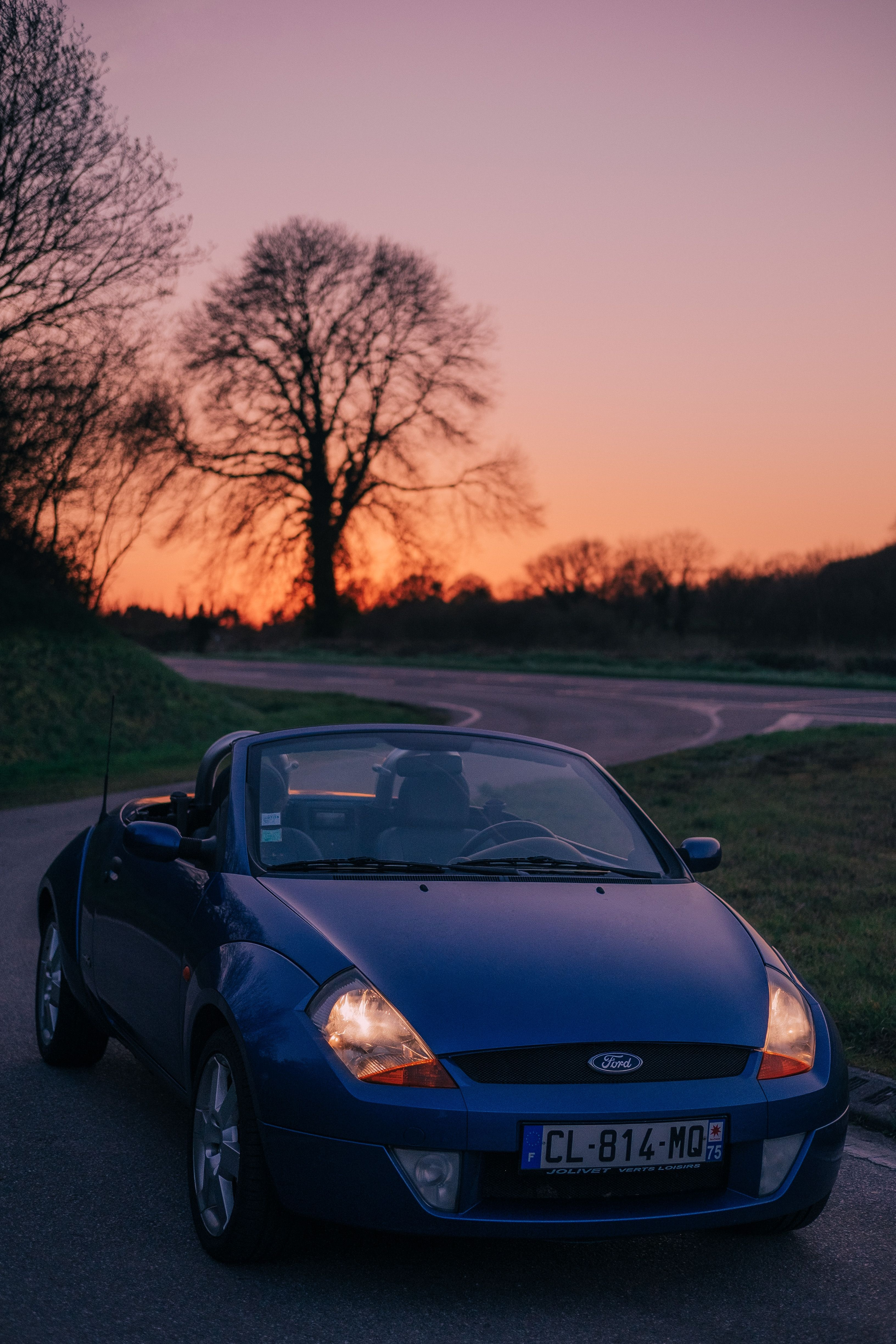 03 Ford Streetka At Sunset In Normandy France Ford Streetka