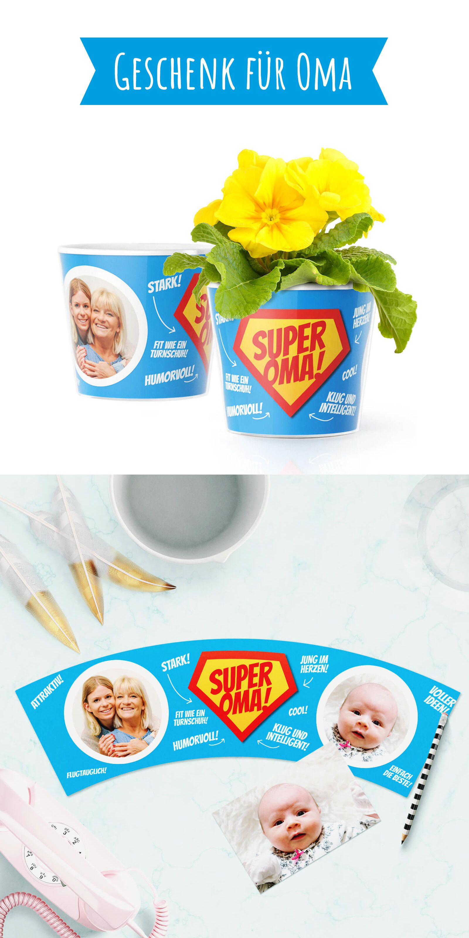 Super Oma! Super Oma Geschenk für eine Super Oma! Ob ein lustiges ...