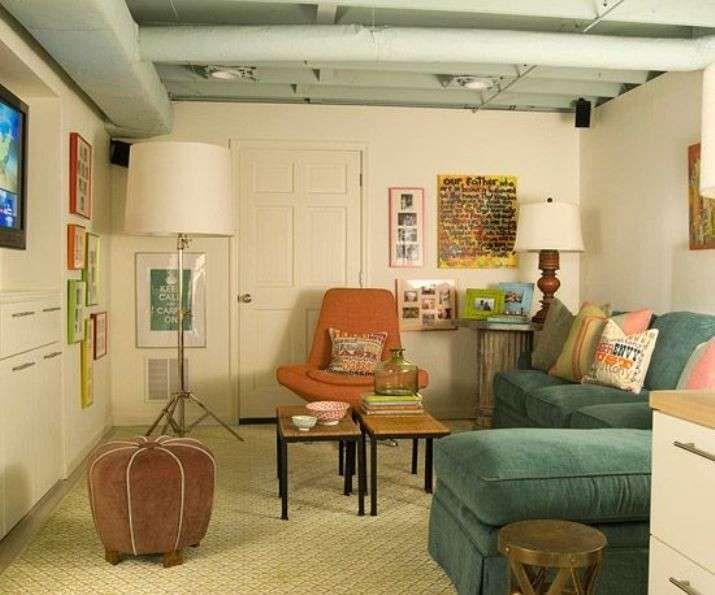 Arredare seminterrato ~ Per arredare un seminterrato seminterrato living room
