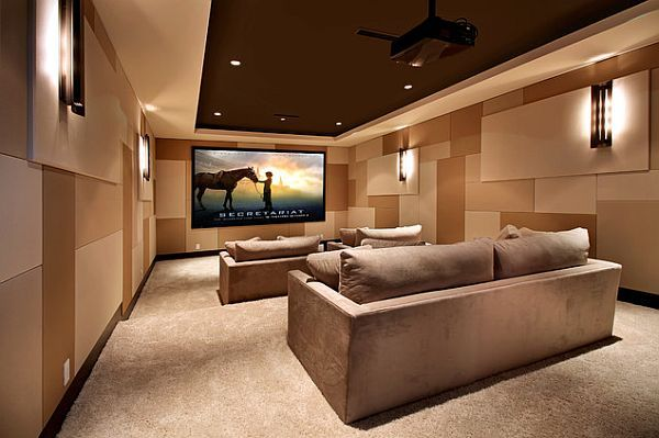 Modern Home Theater Interior Design
