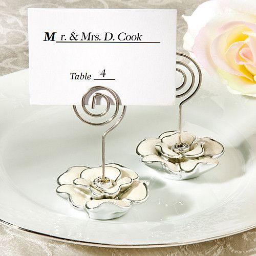 These Gorgeous Rose Place Card Holders