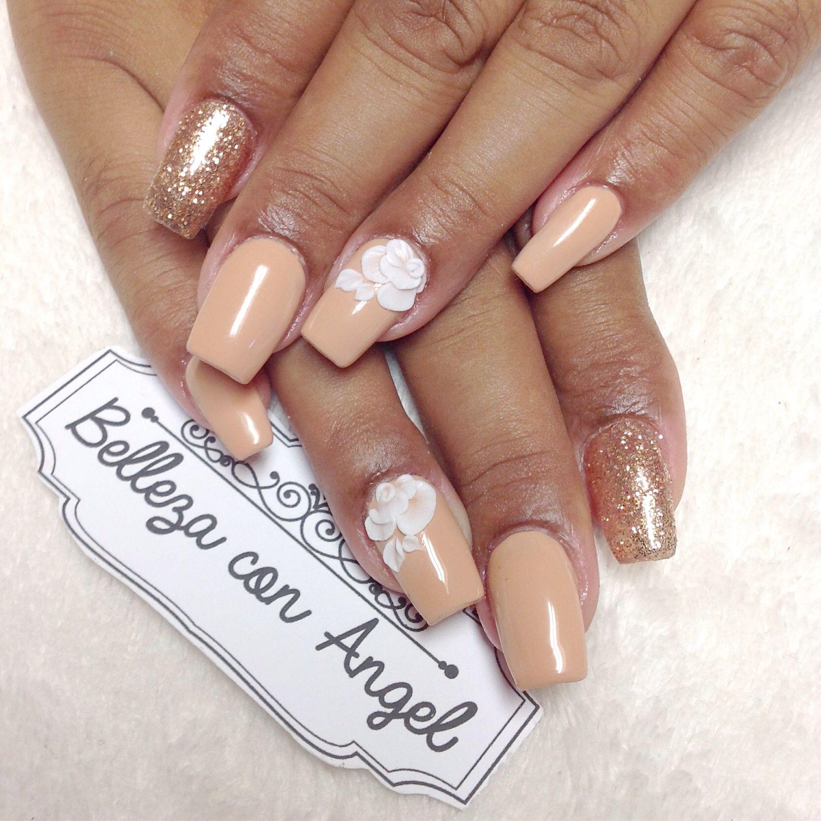 Gelish 3D nails | Nails | Pinterest